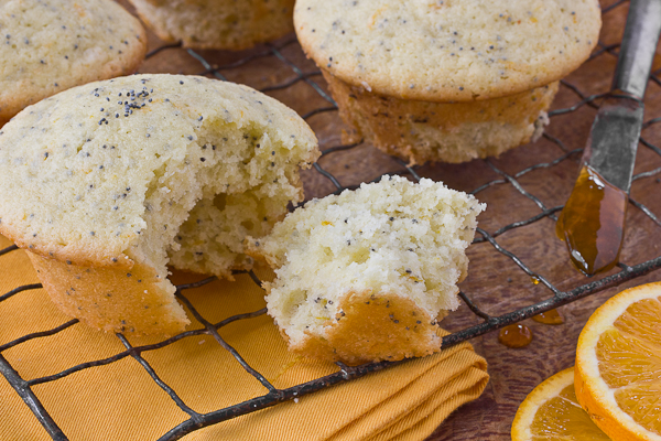 Orange Poppy Seed Muffins DC-2