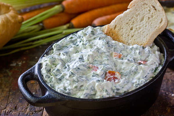 Knorr® | Spinach and Greek Yogurt Dip - YouTube