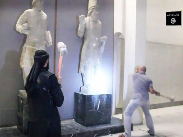 Destrucción del Museo de Mosul