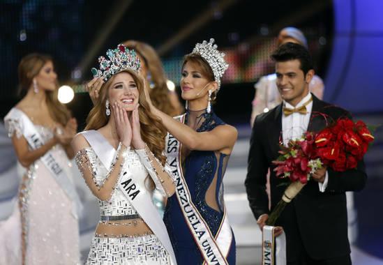 Mariam Habach, Miss Venezuela 2015 (foto cortesía de El Universal)