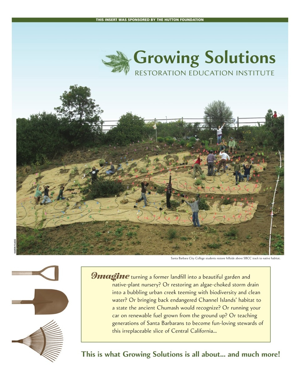 Growing Solutions special insert in The Santa Barbara Independent.