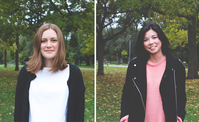 Founders Camille Byrne of Cambie Design & Courtney Lee Yip of Courtney Lee Photography