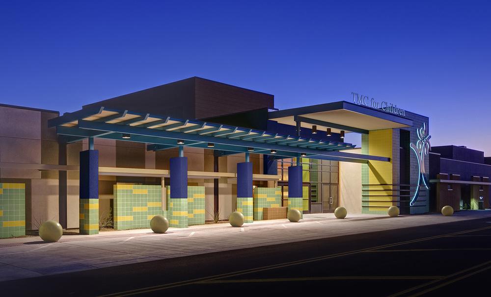 tmc-pediatric-hospital-entrance