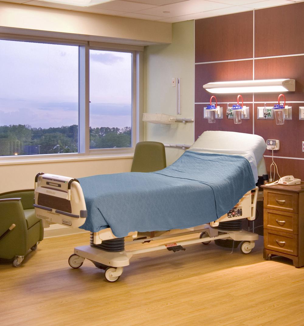 oakwood-southshore-hospital-patient-bed