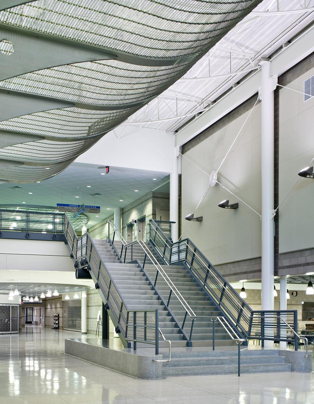 lansing-community-college-mtec-stairway
