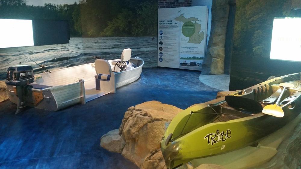 fishing and kayaking simulators