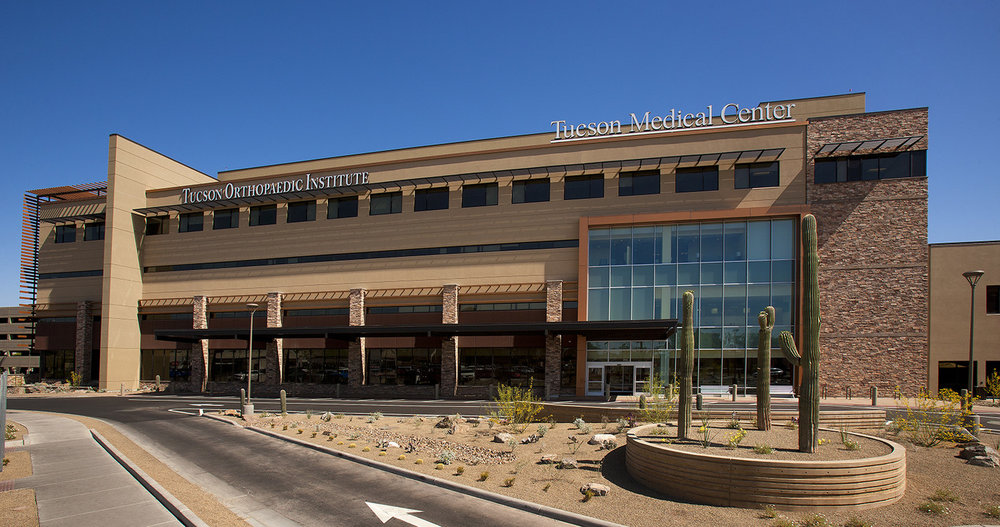 The all new Tucson Medical Center in Tucson, Arizona