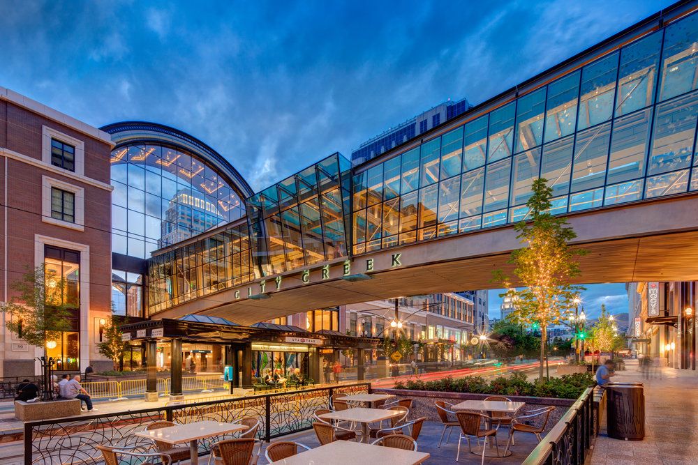 City Creek Center in Salt Lake City, Utah