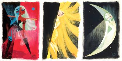 Princess of Mars, Princess of the Sun, and princess of the Moon!