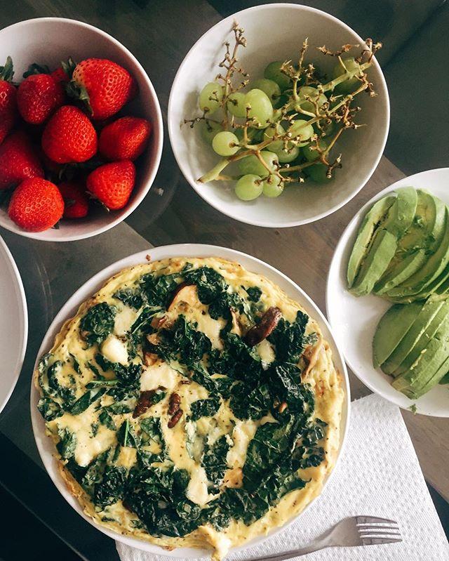 { the breakfast spread }