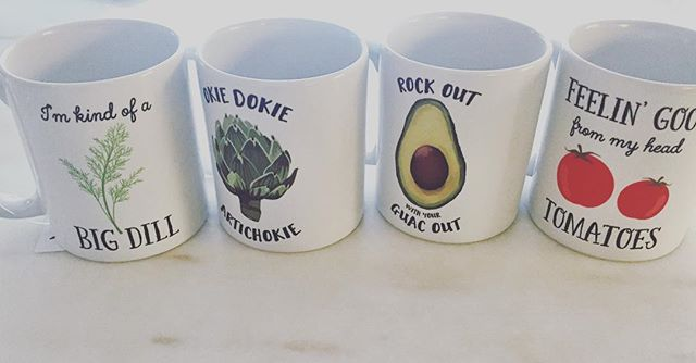 { the best darned mugs I've ever seen } #kindofabigdill #rockoutwithyourguacout @foxymug