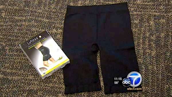 Caffeinated Pants; They may not help you lose weight, but they will help if your leg falls asleep.