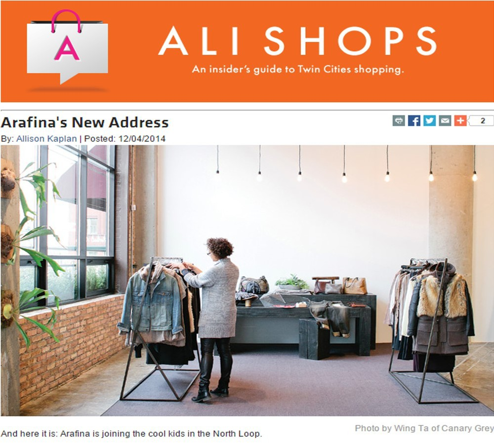 Arafina's New Address - Allison Kaplan - Mpls. St. Paul Magazine