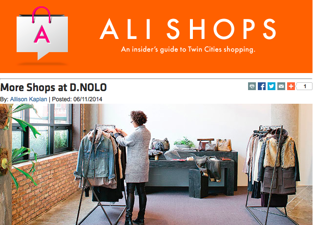 More Shops at D.NOLO - Allison Kaplan - Mpls. St. Paul Magazine
