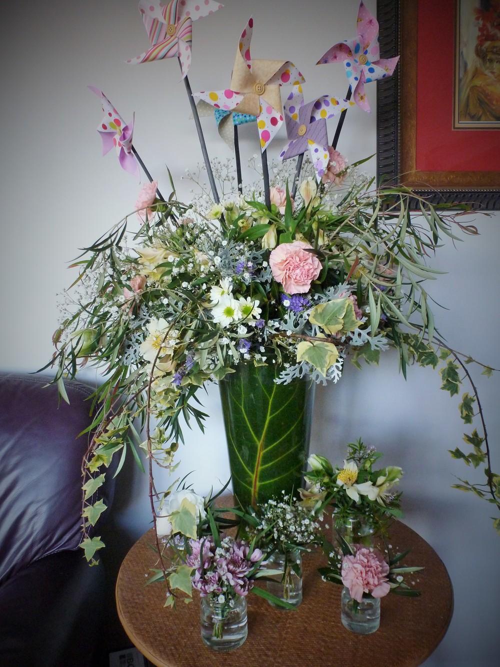 Whimsical arrangement