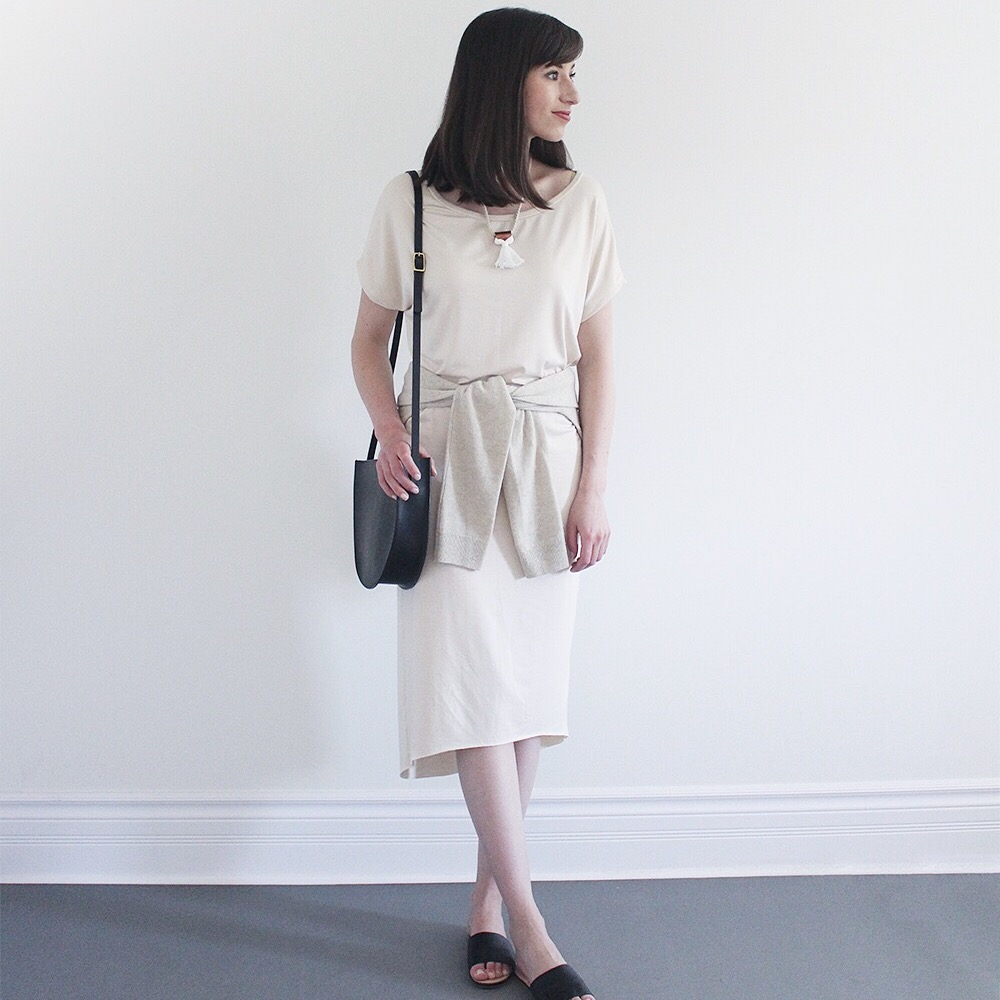 Lee Vosburgh of   Style Bee   wearing the Slip Dress