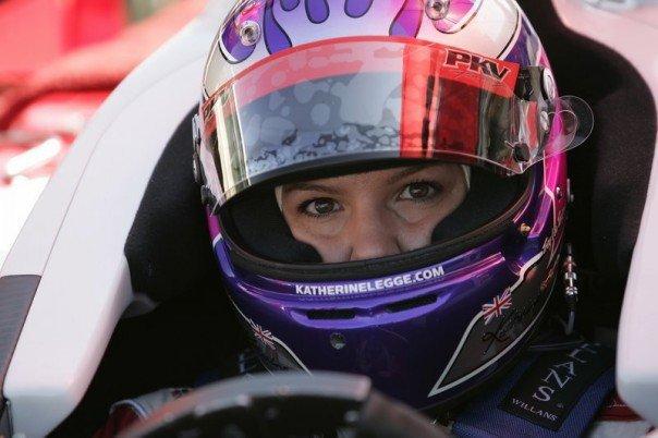 TrueCar Racing Driver, Katherine Legge