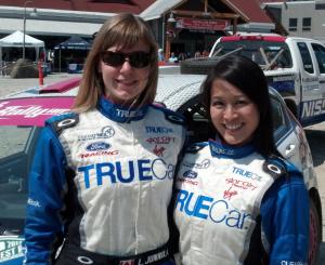 Verena Mei & Leanne Junnila 2012 Rally America B-Spec Champions