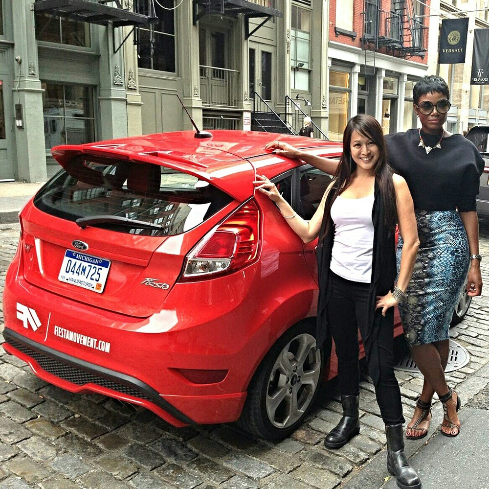 On a Fiesta Movement mission with InStyle Brand Ambassador, Tai Beauchamp
