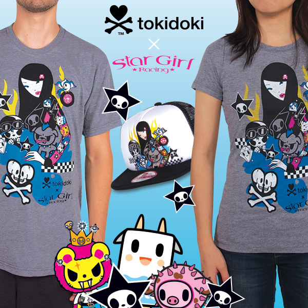 tokidoki x Star Girl Racing