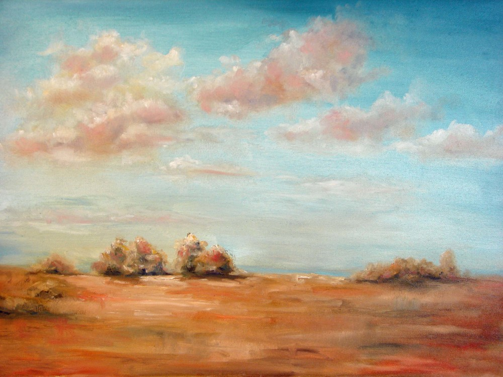 Debra Latham  Seascape I  18X24  Oil on Canvas