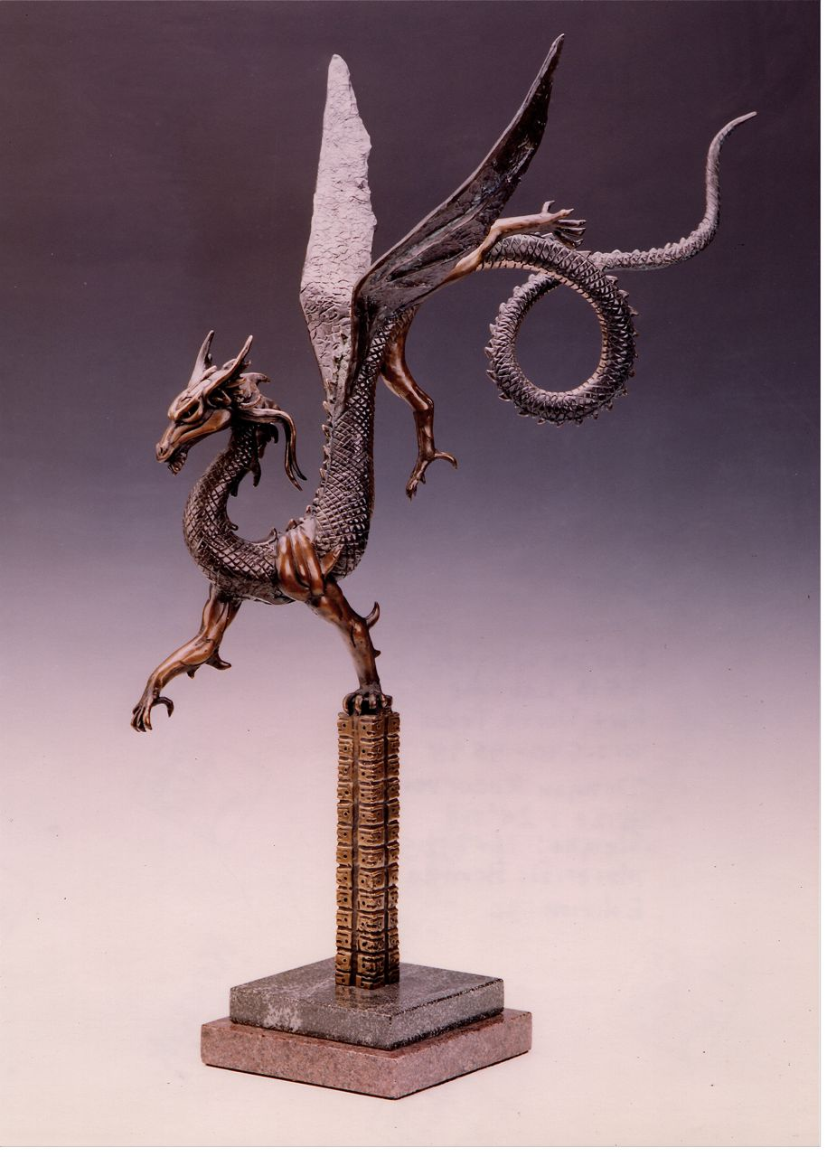 Deran Wright  Dragon Recurvent  26X18  Bronze