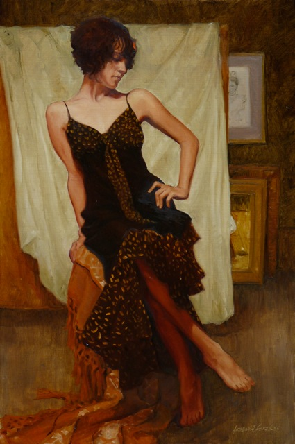Anthony A. Gonzales  Asi Es  36X24  Oil on Linen