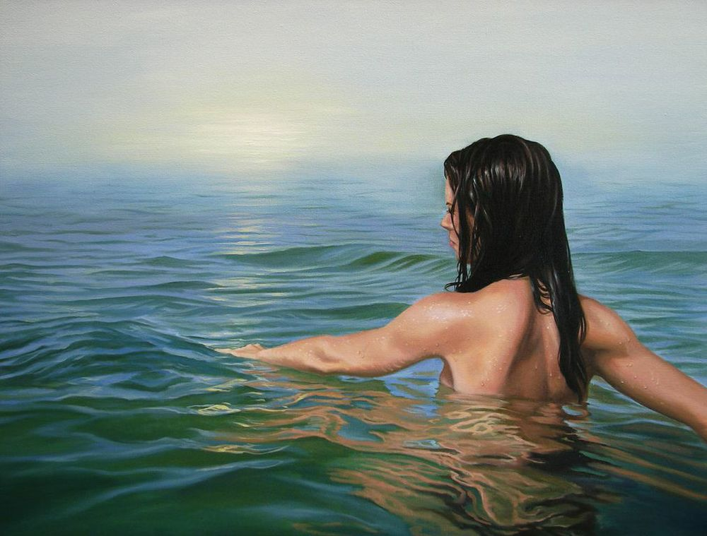 Arturo Samaniego  Looming Vision  36X48  Oil on Canvas