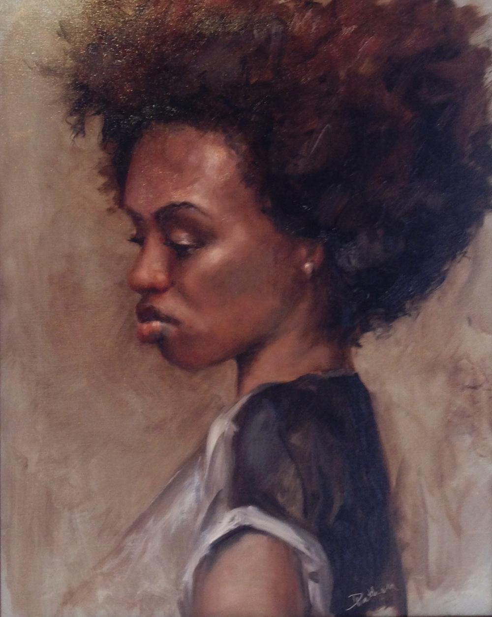 Debra Latham  Jessica  20X16  Oil on Linen