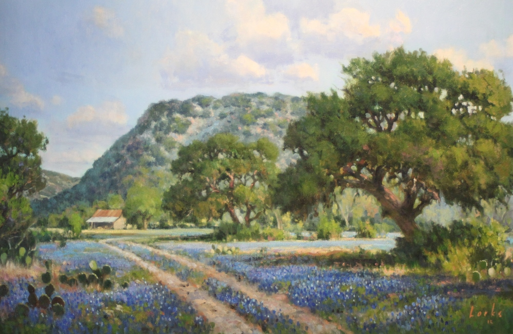 David Forks  A Road to the Barn  24X36  Oil on Canvas  $2,595  SOLD