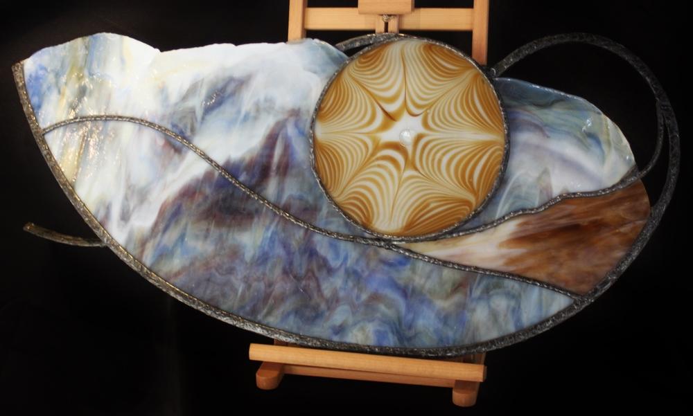 Cheryl Sanchez  I Dream of Jeanie  16X34  Glass