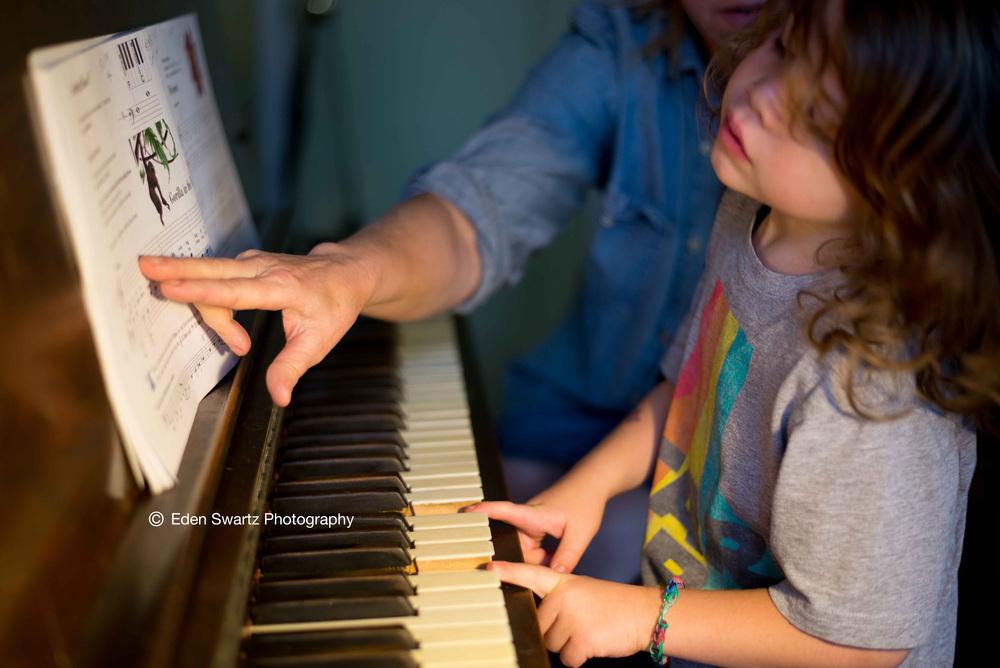 Piano Lesson. June 3, 2015