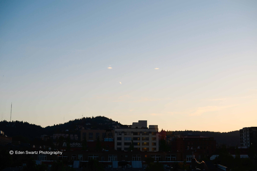Dusk From Apartment 510. June 3, 2013