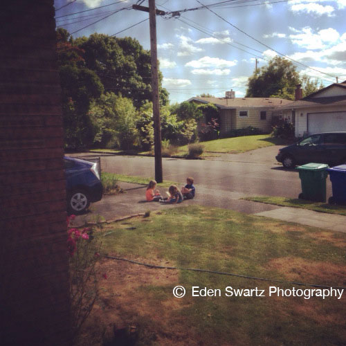 Outside My Bedroom Window. aka – Spying On My Kids. June 9, 2014