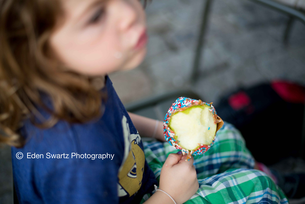 The $8.50 Candy Apple.  Boston, MA  June 19, 2015