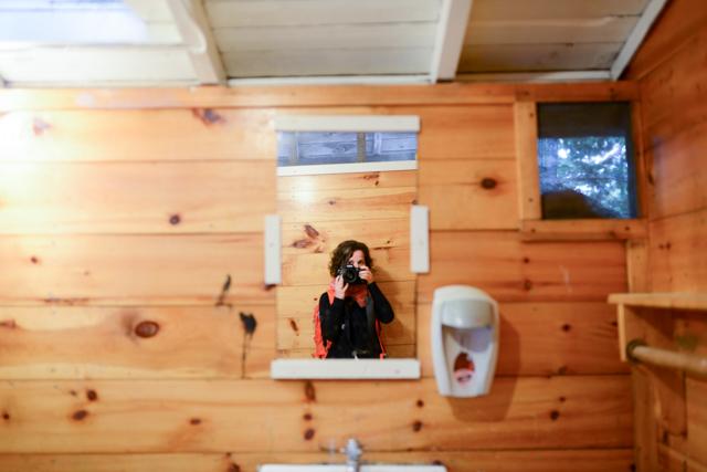 Self Portrait in the Hilton Bathroom. June 23, 2016