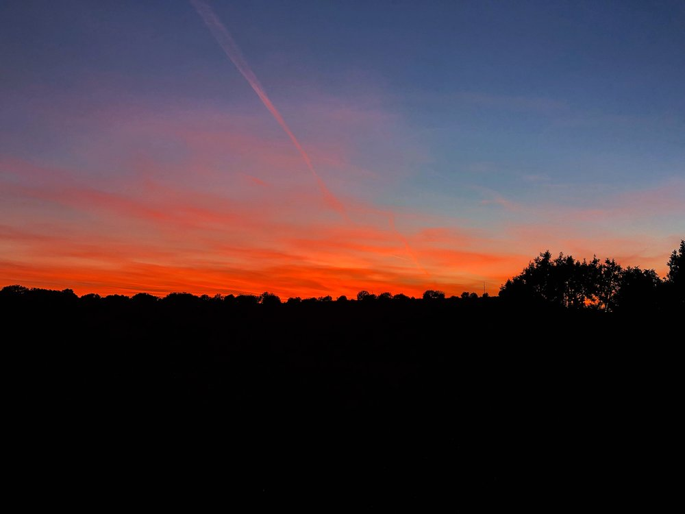 Sunset hike, deer hunting, bowhuntingaz, hunting blog, blog