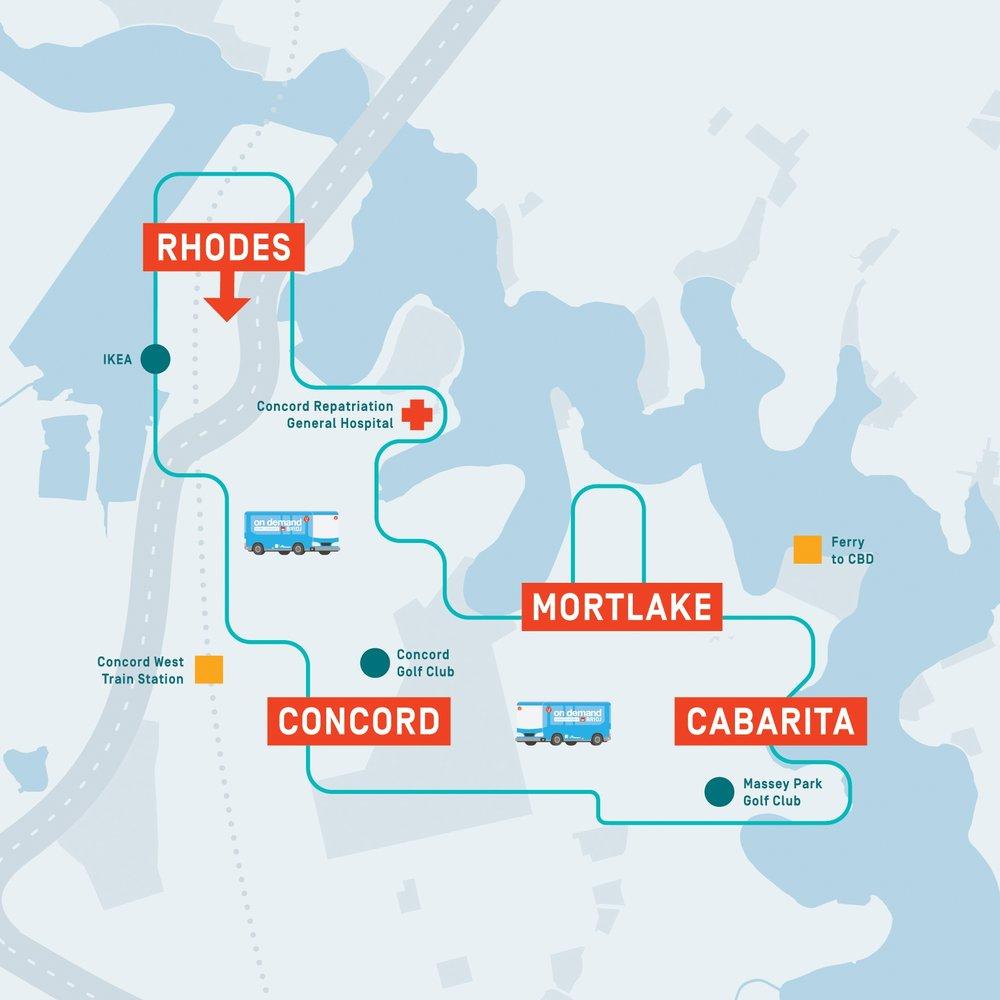 Rhodes to Cabarita Service Corridor