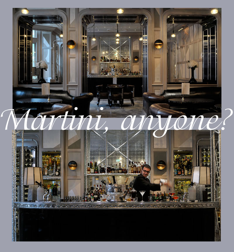 martini at the connaught bar
