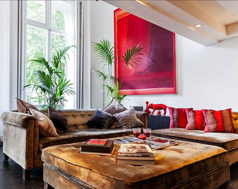 velvet sofas in london
