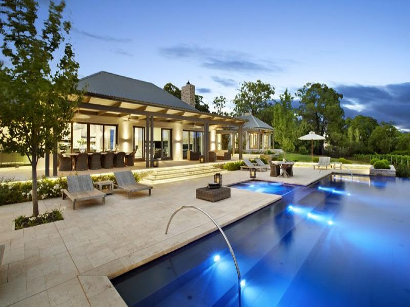 swimming pool contemporary homestead
