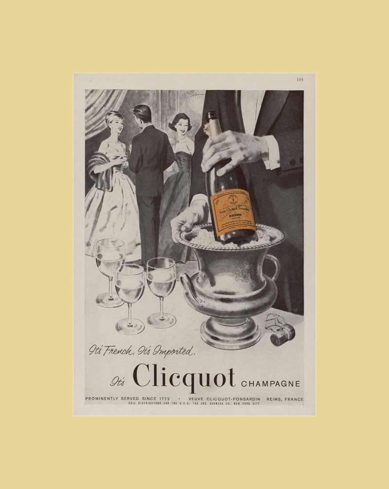 clicquot ad