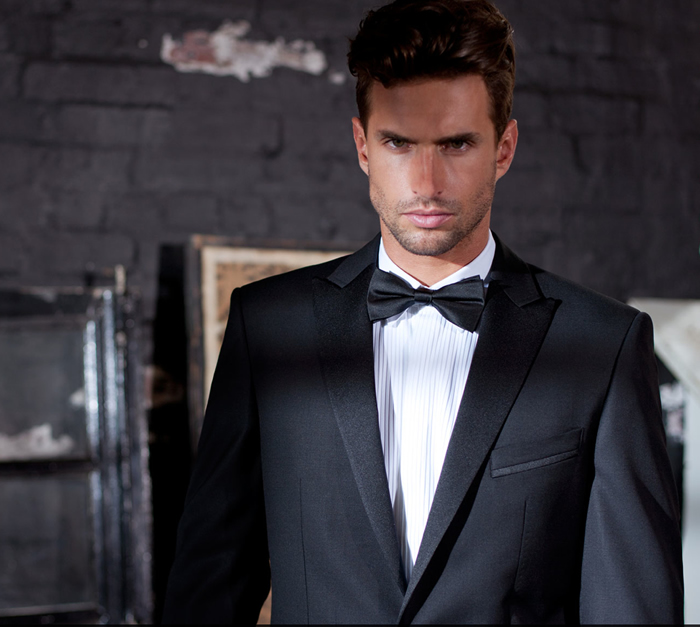 black bow tie dress code for men