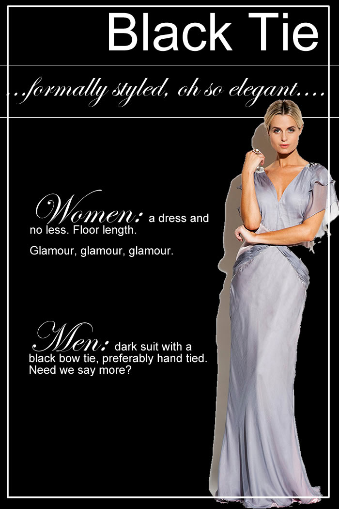 Excellent Fashion Forward Dress Code  Female White Tie Attire