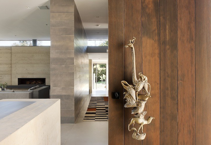 fabulous front door handle robson rak architects merricks house