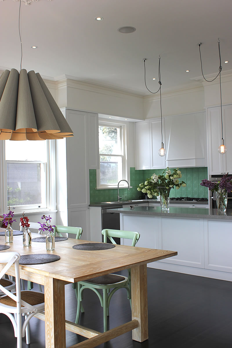 Project Update Edwardian House Renovation The Kitchen Glamour Drops
