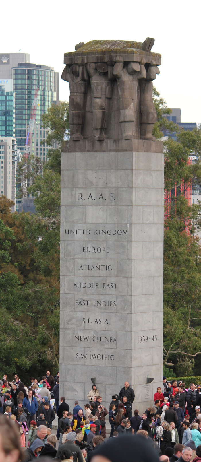 memorial to raaf melbourne