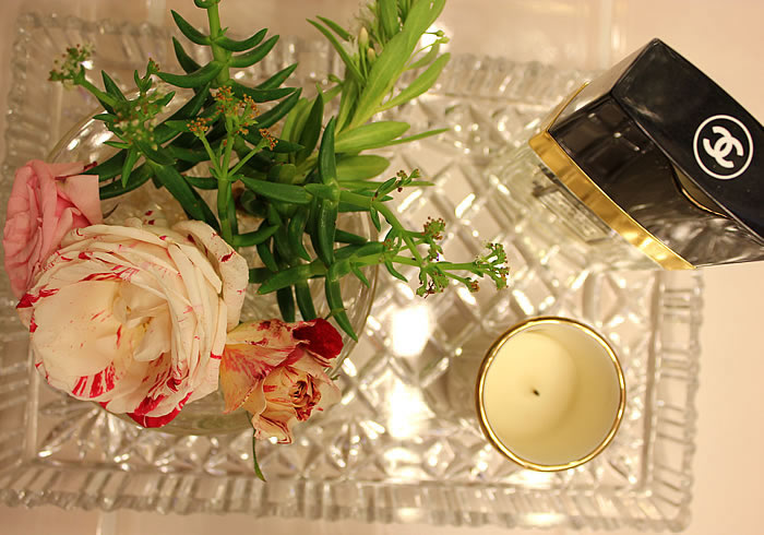 roses candles perfume