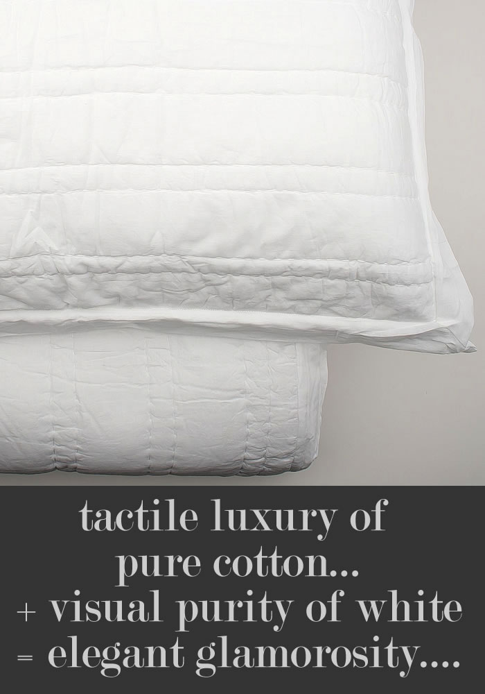 Spectacular Win this luxurious Taj forter set in hand quilted pure cotton voile u