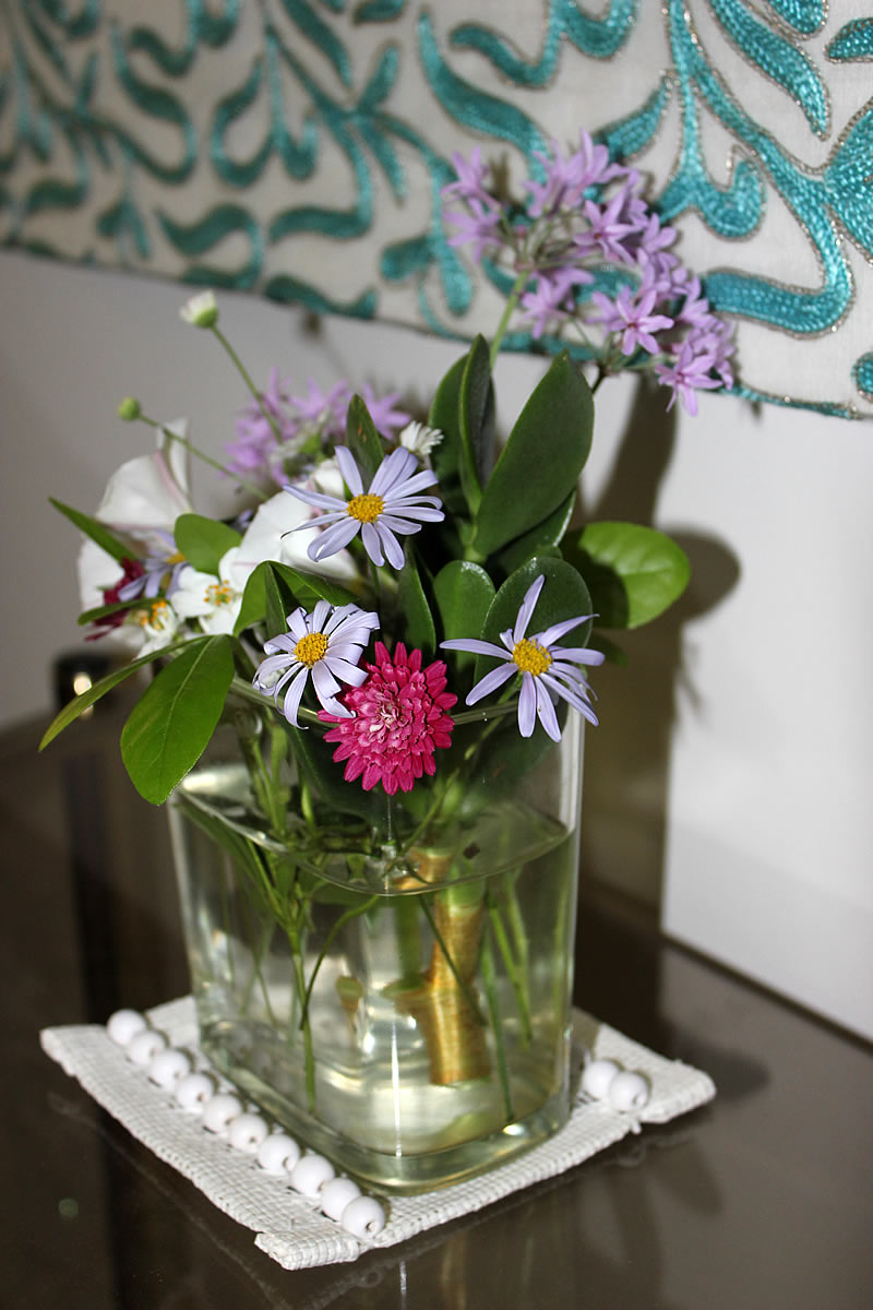 1st posy from the garden